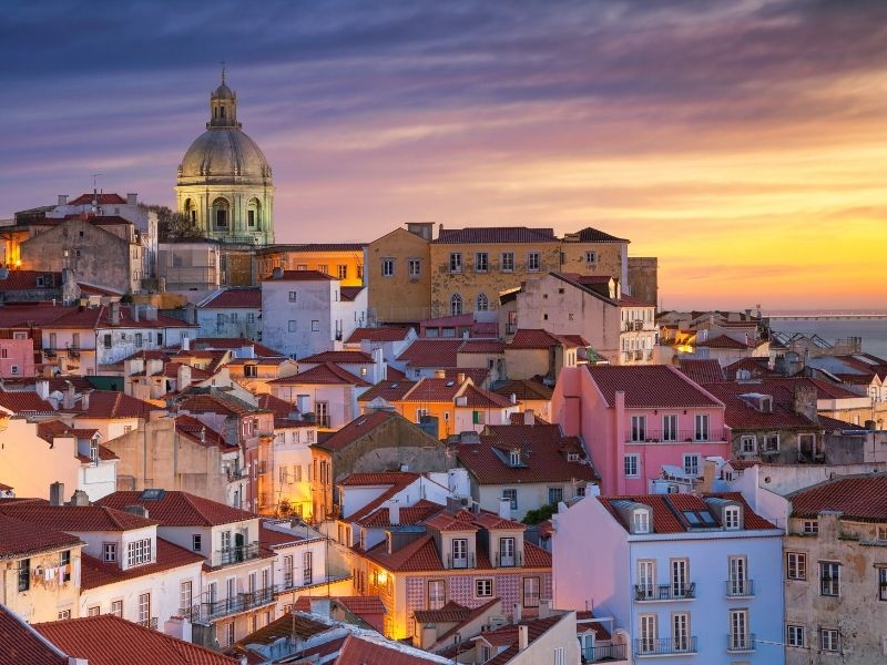 Romantic cities in Europe - Lisbon