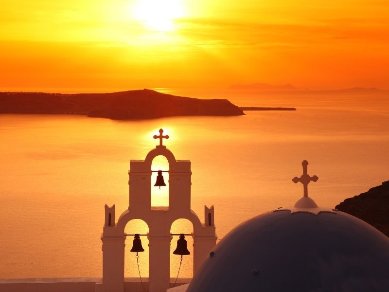 Romantic trips to Europe - Santorini