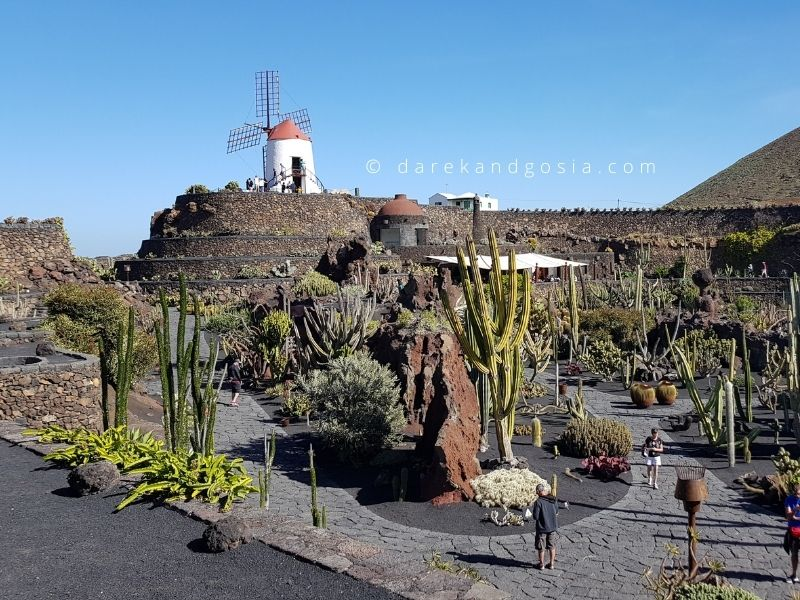 Warm weather Europe March - Lanzarote