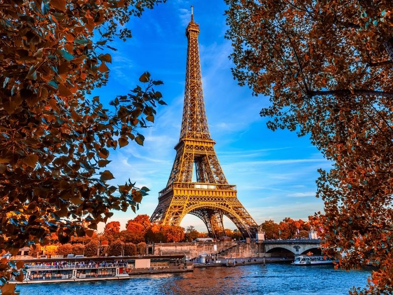 Weekend trips from london to Europe - Paris