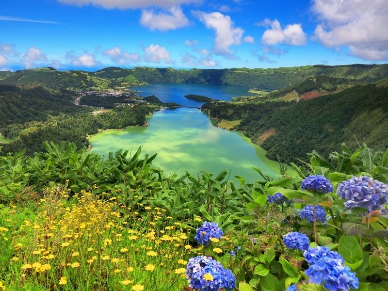 Where is hot to go in March Europe - Azores