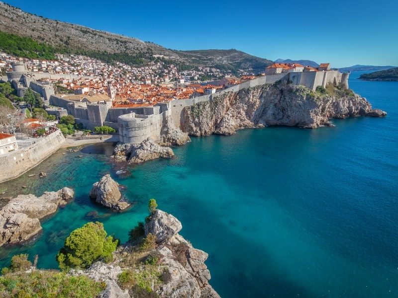 Where is warm April in Europe - Dubrovnik