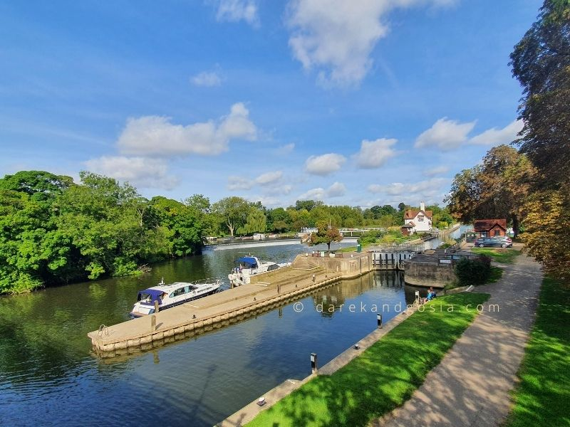 Best places south of England - Goring on Thames