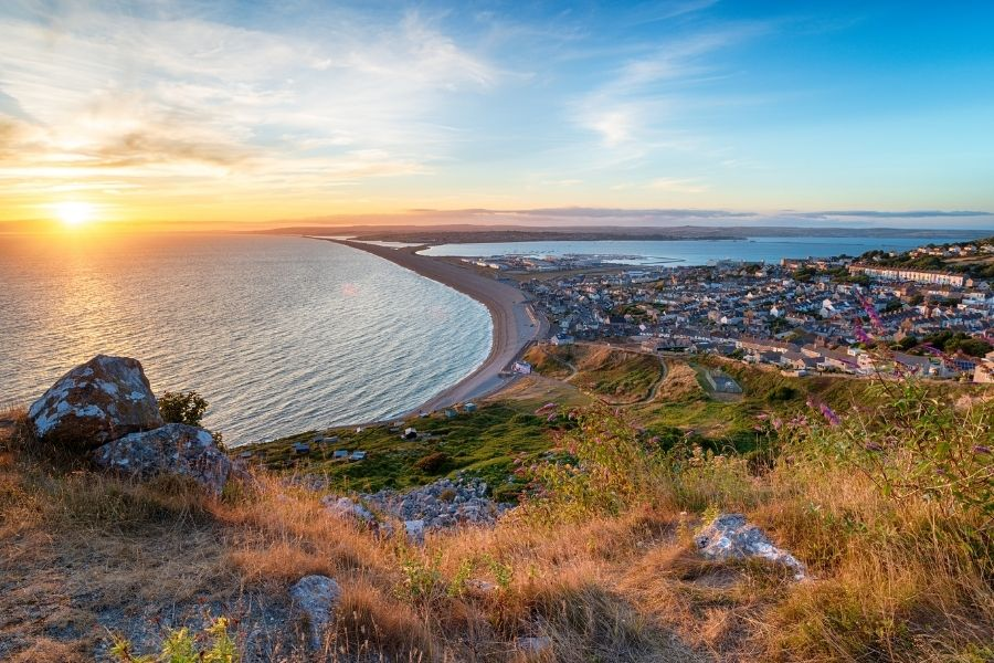Best places to go down south England - Isle of Portland