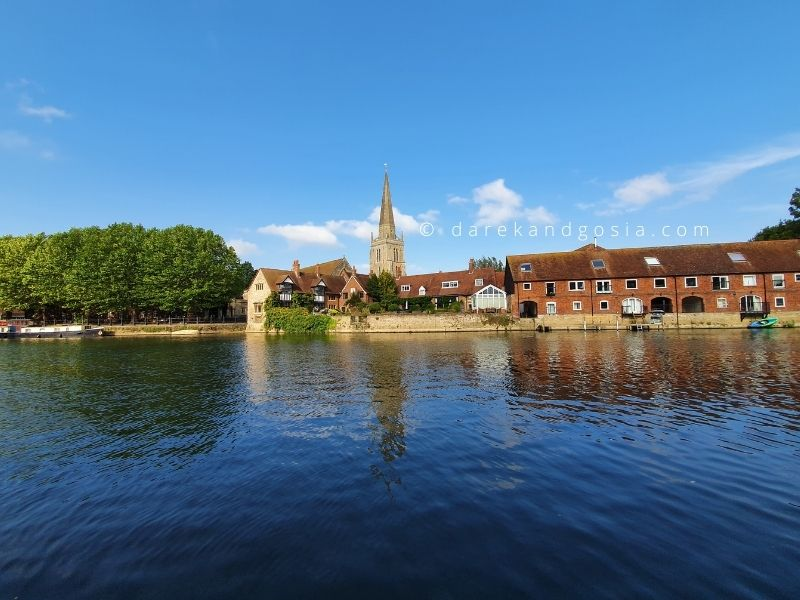 Day trips from London by car - Abingdon