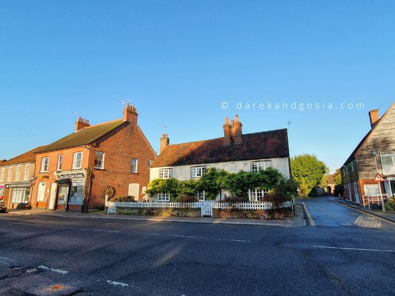 One day trip from London by car - Chalfont St Giles