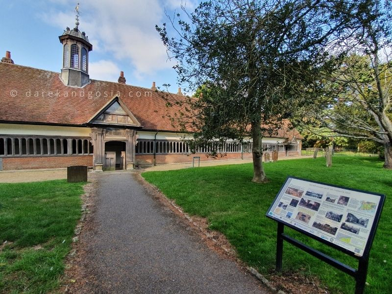 Places to visit in Abingdon-on-Thames - Almshouses in Abingdon-on-Thames