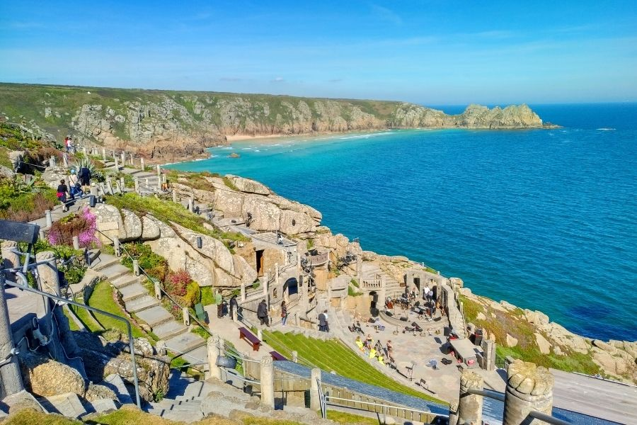 Places to visit in the south coast - The Minack Theatre