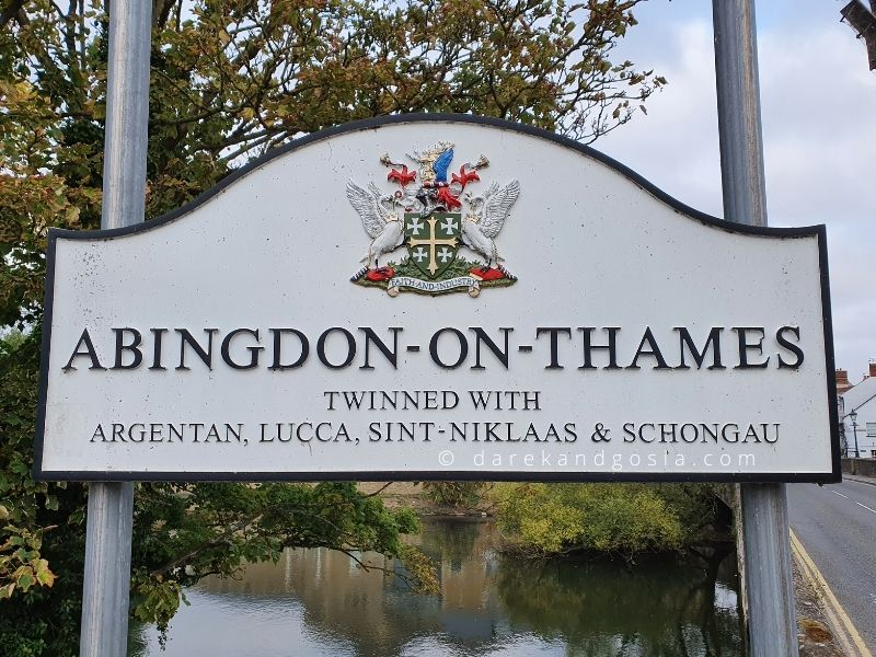 Where is Abingdon-on-Thames